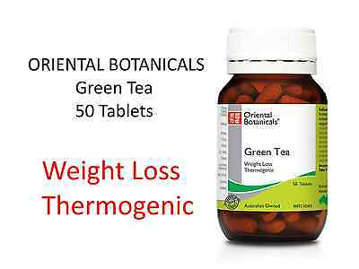 ORIENTAL BOTANICALS Green Tea 50 Tablets ( Weight Loss Thermogenic )