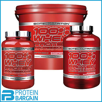 Scitec Nutrition 100% Whey Protein Professional 920g, 2.35kg & 5kg