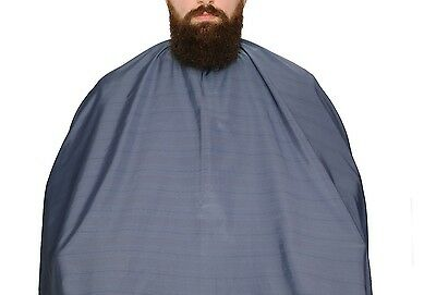 Barber Salon Cape Gown Premium Blue HAIRDRESSER 160CMx140 Free UK Delivery