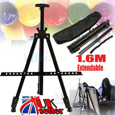 Artist  Field Studio Folding Telescopic Painting Easel Tripod Display Stand Sign