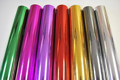 Mirror Chrome Vinyl Wrap (Air/Bubble free) All Colours All Sizes