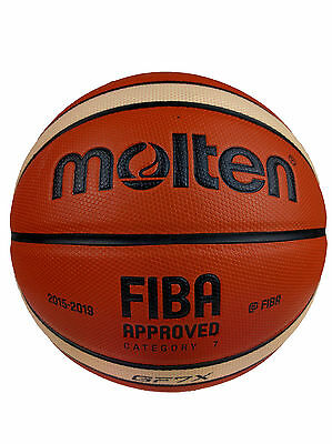 Molten GF X Composite Leather Basketball   Free Express Shipping  Size 6 & 7
