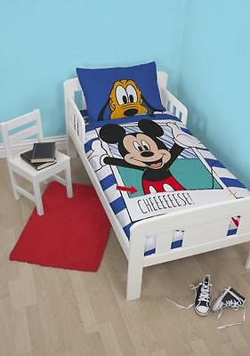 Mickey Mouse  Cot/ Toddler Doona  / Quilt Duvet Cover Licensed New