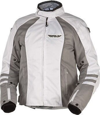 Fly Racing Georgia II Ladies Riding Jacket Waterproof White