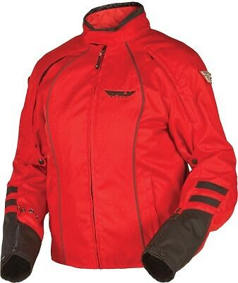 Fly Racing Georgia II Ladies Riding Jacket Waterproof Red