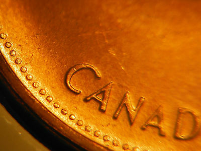 """1967 One Cent ***** Double """"C"""" in """"CANADA"""" + Double Queen ***** UNC"""