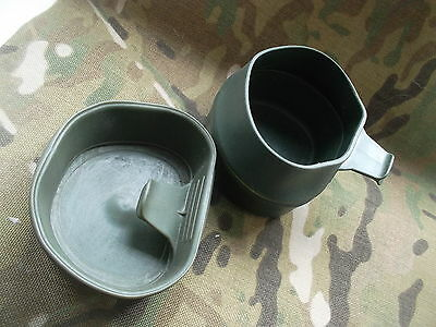 SWEDISH ARMY JAGER FOLDING CUP small MADE IN SWEDEN