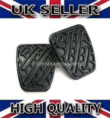 Pair Of Brake & Clutch Pedal Pad Rubber Cover For Nissan Qashqai (Manual)