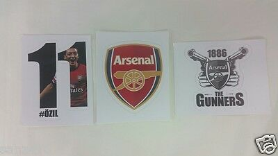 Arsenal car bumper sticker - Ozil, gunners stickers