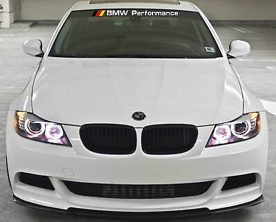 BMW Performance WINDSHIELD DECAL