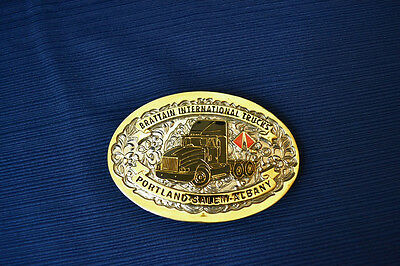 BRATTAIN INTERNATIONAL TRUCKS Belt Buckle