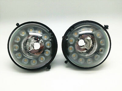 CREE LED Daytime Running Lights Fog Lamps Assembly Kit For MINI Cooper R56 R60