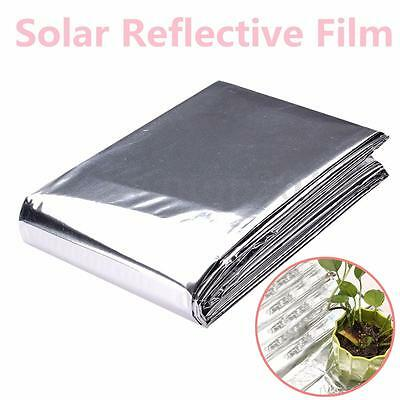 2pc Garden Wall Mylar Film Covering Sheet Hydroponic Highly Reflective 82''x47''
