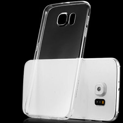 Soft Silicone TPU Ultra Thin Clear Transparent Case Cover For Samsung Galaxy