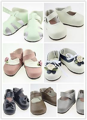 Fit 18'' Reborn Doll Shoes Our Generation/American Girl/Journey Girl Dolls Baby