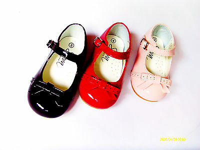 Baby Girl Hard Soled Shoes