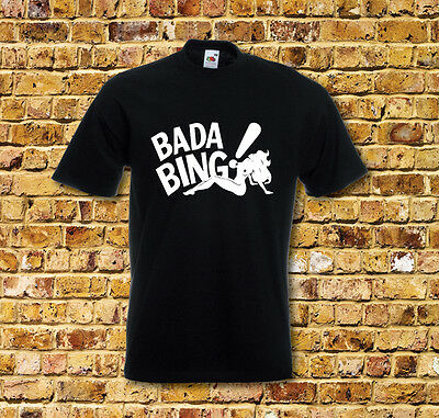 The Sopranos Bada Bing Cool New T Shirt New Many Colours