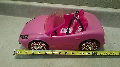 Barbie convertible car picclick uk for Motorized barbie convertible car