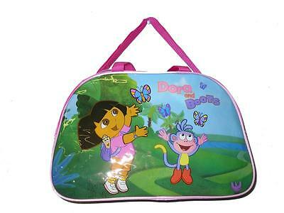 """Dora the Explorer and Boots diaper Gym Bag duffle Sports 16"""" new"""