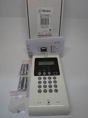 EL iConnect 2-Way LCD Funk-Bedienteil Sprachausgabe EL-4727 LCD Keypad Wireless
