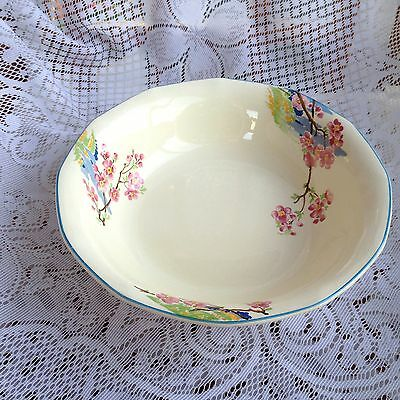 "Royal Tudor Ware"" Bloosom Time"" Open Seving Bowl- Art Deco Hand Painted  (603)"