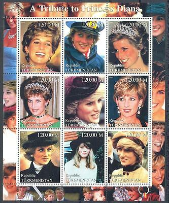 (051356) Diana, Turkmenistan - private issue -