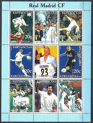 (051394) Soccer, Real Madrid, Kyrgyzstan - private issue -
