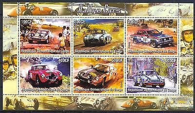 (051413) Rally, Racing Cars, Congo - Private issue -