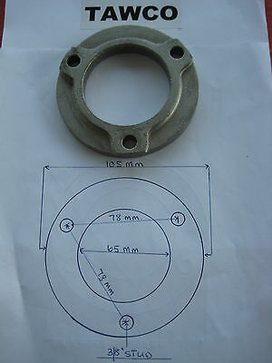 Water Cooled Exhaust Manifold Stainless Steel Flanges For Exhaust Pipes