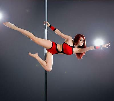 STATIONARY & SPINNING Dance and Excersise Portable High Dancing Pole