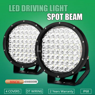 9inch 26100W Cree LED Driving Work Lamp Spot lamp Offroad4x4 Round HID Black ATV