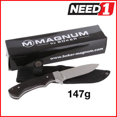 Magnum by Boker Ultimate Hunting & Outdoor Knife 440 Stainless Steel Razor Sharp