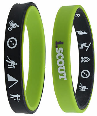 i.SCOUT Double Sided Wristband