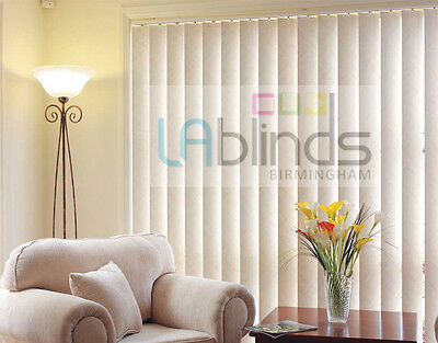 Complete Vertical Blind Sets - Many Colours & Designs Available Made to Measure