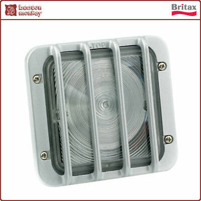 Britax White Guarded Auxiliary Lamp Light 24V Bulb Truck Lorry Plant Tipper
