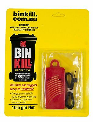 Bin Kill Fly Protector 10.5g Binkill Flies Maggots Bug Pest Garden