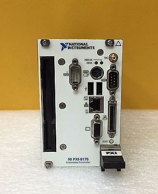 National Instruments NI PXI-8175 866 MHz Processor PXI/c PCI Embedded Controller