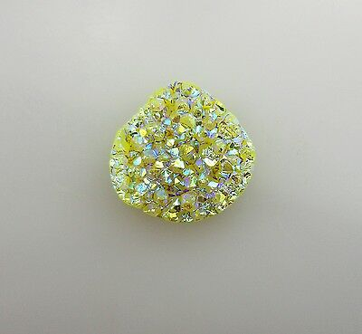 Natural Achat Druse Kristall cabochon 40.40 ct 213E