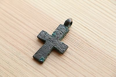 RARE Gorgeous Viking Kievan Rus Pendant Cross 10-11 AD