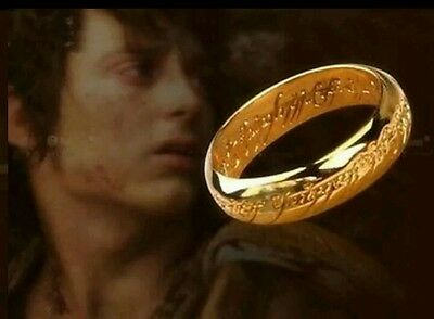 Lord of the Rings Ring Necklace Collectible Collectors Item Memorabilia Gift