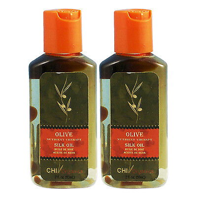 CHI Organics Olive Nutrient Silk Oil 2 fl oz (Pack of 2)