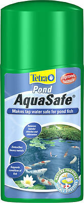 Tetra Pond Aquasafe Tap Water Conditioner 500ml,1000ml safe pond water for fish • EUR 16,40