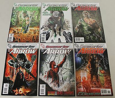 DC: Green Arrow V3 (2010) #1-12 COMPLETE Brightest Day