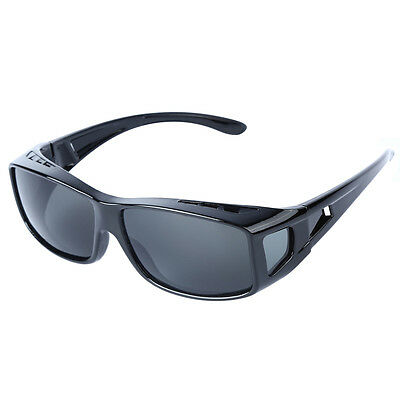 100% UV Cycling Sport Wear Cover Over Rx Glass Sunglasses Fit Driving B9