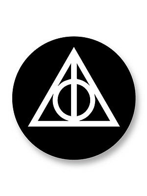 "Pin Button Badge Ø25mm 1"" Deathly Hallows Harry Potter"