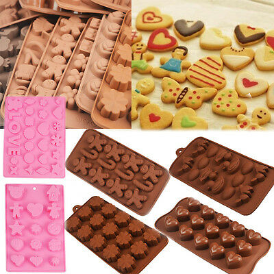 Bakeware Mould Mold Baking New Chocolate Cook Cookie Muffin Tool Cake Silicone j