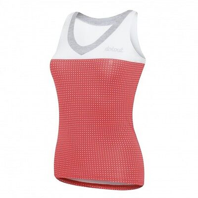TOP DOTOUT DOTS.2 ROSSO BIANCO Size S