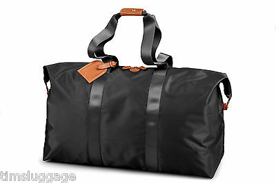 """Bric's X-Bag 22"""" Travel Packable Folding Duffel w/ Handbag Pouch NEW Made Italy"""