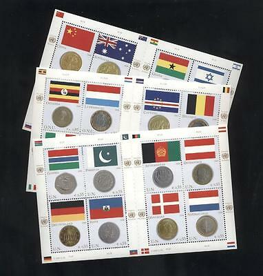 (927120) Flag, Coins, United Nations