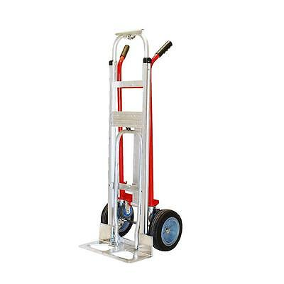 Milwaukee 1000 lb. Capacity 4-in-1 Hand Truck Utility 60137 Dolly Moving Cart